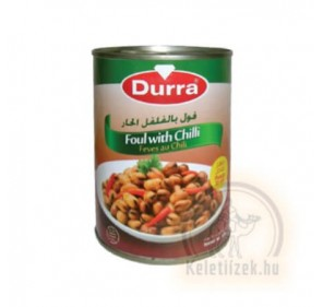 Lóbab chilis 400g Durra (Foul)