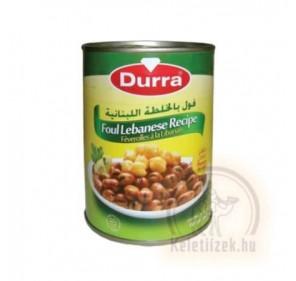 Lóbab libanoni módra 400g Durra (Foul)