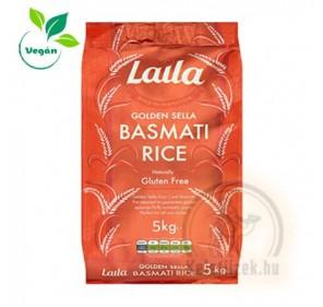 Arany basmati rizs 5kg Laila (Glutén mentes)