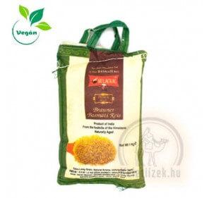 Barna Basmati rizs 1kg  Mulackal