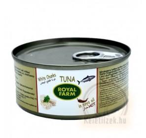 Fehér csípős tonhal 160g