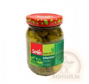 Jalapenyó paprika 170g Selin