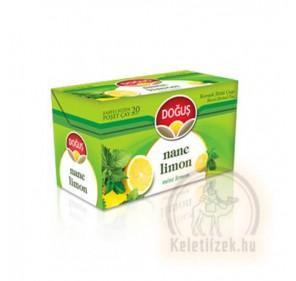 Borsmenta-citrom tea filteres 40g Dogus