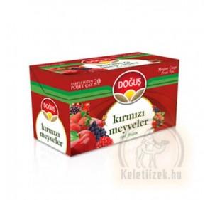 Vörös gyümölcs tea filteres 40g Dogus